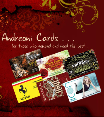 Card design and printing