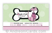 Doggie Style Business Card Samples