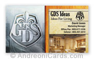 GDS business card sample
