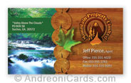 Mountain Property Business Card Sample