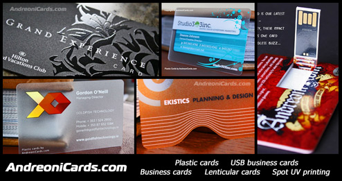 Plastic business cards - Best quality and attention to detail