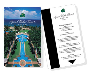 Plastic key cards - Grand Wailea Hotel