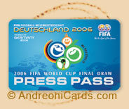 FIFA 2006 world cup press pass