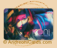 Madonna Icon plastic fan club cards