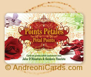 Gardenia plastic loyalty cards