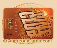 Pint Club plastic club card