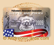 Rye police association plastic cards
